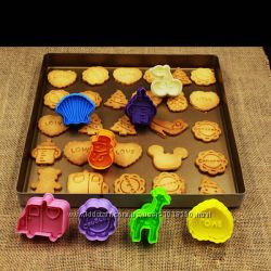 Акция - формочки для выпечки хрустящего печенья по спец. цене, собери набор