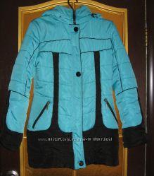 красивая длинная курточка на 46-48 размер