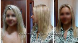 Выпрямление волос, кератирование, Киев
