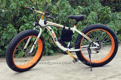 Электровелосипед LKS Fatbike 3 цвета Electro Rear Drive