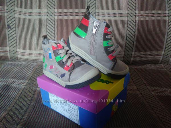 Продам ботиночки B&G р. 23 стелька 15 см