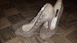 ZARA туфли ажурные