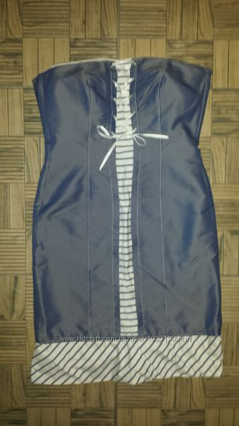 Платье бюстье шнурвка