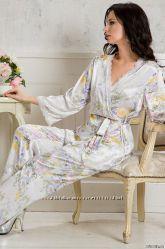 0f70c6036c5833e Lilianna шелк. XS - XXXXXL. Комплект брюки, туника, сорочки, халаты ...