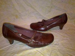 Туфли  CLARKS 100 нат. кожа Вьетнам оригинал 39р