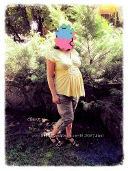 Одежда для беременных штаны-бриджи-сарафан