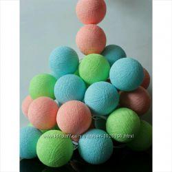 Гирлянда тайские фонарики 35 шариков Summer time