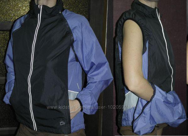Ветровка курточка Crane безрукавка отстегиваются рукава