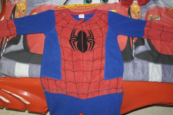 Primark essentials spiderman  слип Кигуруми человечек пижама домашний костю