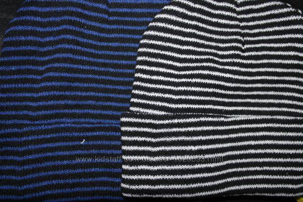 шапка бини рубчик широкий плотная ровная вязка