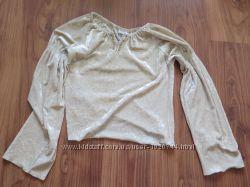 блузка бархатная