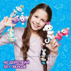 Акция Finger Monkey - интерактивная ручная обезьянка все функции игрушка
