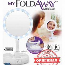 Косметическое зеркало My Foldaway Mirror зеркало с подсветкой