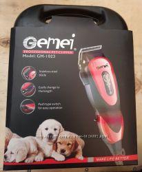 Машинка для стрижки животных собак Gemei GM-1023 профессиональная