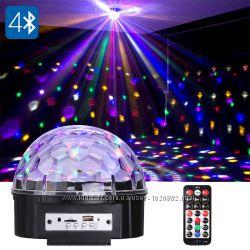 Светодиодный диско-шар LED Magic Ball Light c MP3 и USB