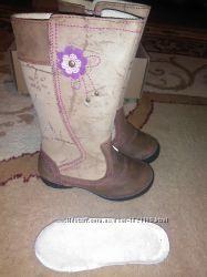 Кожаные ботинки 25 р d d step