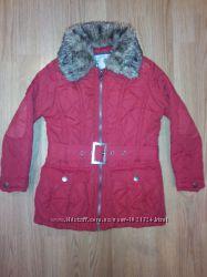 Красная деми курточка YD