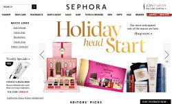 Заказ косметики  с сайтов Sephora, Colourpop, BH Cosmetics, Macys, Walmart