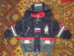 Теплая демисезонная курточка на мальчика Palomino Германия, р. 98-104