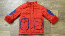 Теплая зимняя куртка, р. 98-104