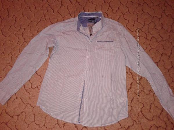 Рубашка мужская приталенная 46 ворот рост 186-188