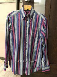 Etro, Hermes, мужская рубашка, 40 ворот, оригинал, Италия.