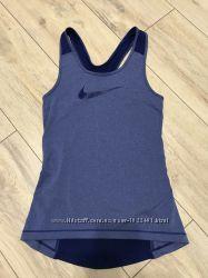 Nike pro, dri-fit, спортивная футболка, майка, борцовка. Оригинал. Р. XS