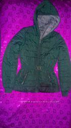 Куртка темно-зеленая Sisley