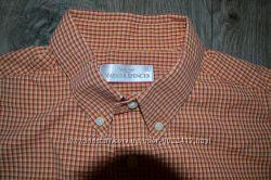 Рубашка на полного мужчину Marks&Spencer р. L-XL в отличном состоянии