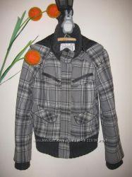 Тёплая клетчатая куртка dBleu, р. S