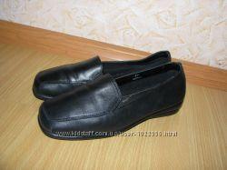 Новые кожаные мокасины Footglove р. 38-38. 5  стелька 25см