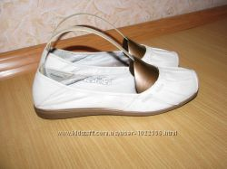 Bama кожаные туфли мокасины 39 р по вст 25 см