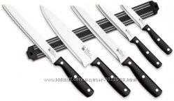 Набор функциональных ручных ножей с магнитной планкой RENBERG 6 пр.