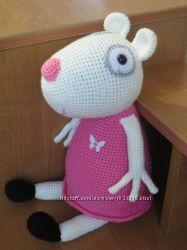 Подружка Свинки Пеппы овечка Сьюзи ручной работы