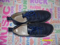 кожаные туфли - мокасины Турция, по стельке 24см