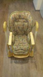 стульчик для кормления Capella Piero Fabula желтый