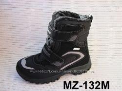Детские зимние термо ботинки для мальчика B&G 34 - 38 рр