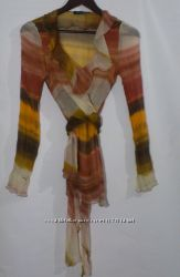 Шёлковая блуза бренд rinascimento италия