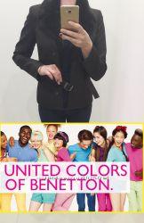 Пиджак- куртка от United Colors of Benetton. Размер М