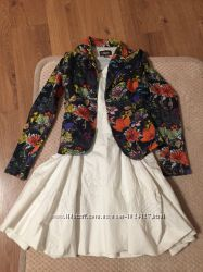 Красивый нарядный пиджак трехнитка