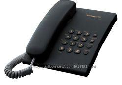Проводной телефон Panasonic KX-TS2350UAB Black, есть опт, со склада