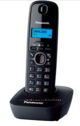 Радиотелефон DECT Panasonic KX-TG1611UAH Black Grey, со склада, есть опт