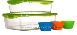 Набор стеклянных судочков Luminarc Keep&acuten  6 форм для кексиков, СКЛАДЫ