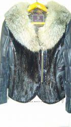 Куртка кожанная