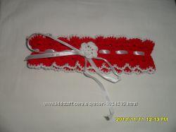 Ажурная повязка на голову для девочки крючком