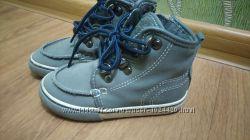 Замшевые деми ботинки next