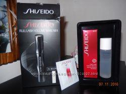 Shiseido full lash volume mascara набор оригинал