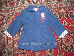 Демисезонная курточка Peppa Pig размер 1-1, 6 года