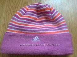 Демисезонная шапка на девочку, 6-7 лет