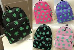 Рюкзак листья конопля, марихуана